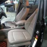 BMW E87 1シリーズ本革シートへの張り替え前