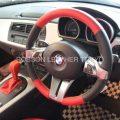 BMW E85 Z4本革シート張り替え後