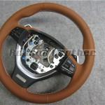 BMW F13 6シリーズクーペ 本革ステアリング張替え後
