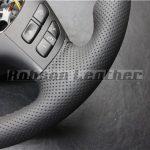 BMW E46ステアリング革巻きAfter