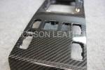 ベンツ W124 カーボンインテリア加工後