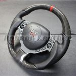 NISSAN GTR35 CARBON STEERING AFTER