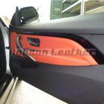 BMW F32 本革シート張替え施工AFTER
